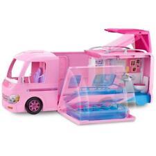 Barbie Pink Dream Camper Van Doll Playset With Accessories Vehicle Toy Set