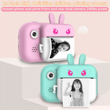 Children Digital Instant Print Photo Camera Video Camcorder Kids Birthday Gift