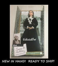 NEW Barbie Inspiring Women Series Susan B. Anthony 2020 Doll New in Box! IN HAND