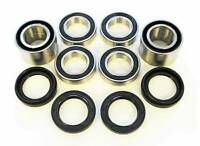 2007 2008 Yamaha 350 Grizzly YFM350 Irs Front And Rear Wheel Bearings And Seals
