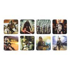 Disney Star Wars The Last Jedi 3D Coasters Set Of 8 Drinks Mat Table Gift