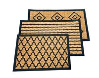 Indoor Outdoor Rug Welcome Matting mats Coir Top with rubber backing Anti slip