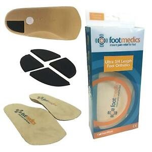 Talar Made Footmedics Orthotics 3/4 Length, pair   Firm Pronation Arch Support