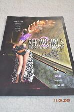 SHOWGIRLS - PENNY'S FROM HEAVEN POSTER SIGNED BY RENA RIFFEL - RARE