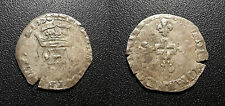 Henri II - demi gros de Nesle 1550 - Paris - Dy#995