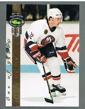 1992 Classic Four Sport Gold /9500 Brent Grieve #213 NYI