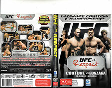 UFC:Ultimate Fighting Championship:74-2007-Couture VS Gonzaga- Approx3 Houre-DVD