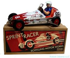 Sprint Champion Racer Tin Toy Car Windup Car Yonezawa Schylling SALE!