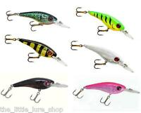 1x 75mm Lindy Deep Dive Shad Shadling Bait Fishng Lures Bass Barra Cod Jack