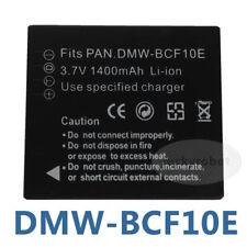 Battery FOR Panasonic DMW-BCF10e BCF10 Lumix CGA-S/106C FT3 5DMC-FX65A DMC-FX65V