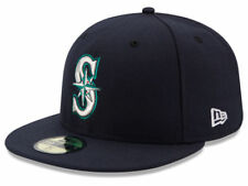 New Era Seattle Mariners GAME 59Fifty Fitted Hat (Dark Navy) MLB Cap