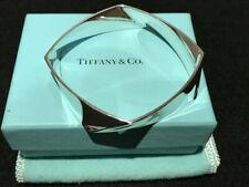 Vintage Tiffany & Co by Frank Gehry 925 Sterling Torque Bangle Bracelet