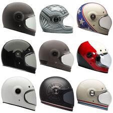 Bell Bullitt Moto Motorrad klassisch Integral Helme alle Farben & Größe