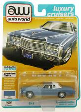1975 Cadillac Eldorado ~ Diecast Car ~ 1:64 ~ auto world