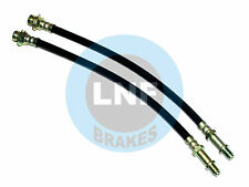 CHEVY IMPALA SS BRAKE HOSE FRONT PAIR 67 68 69 1967 1968 1969 DRUM BRAKES