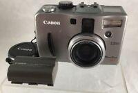 Canon PowerShot G1 3.3 MP Digital Camera *Fast Ship* F10
