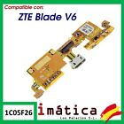 Flex Load For ZTE Blade V6 Cable Plate Micro USB Microphone Connector Piece
