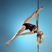 Dancing Pole Fitness Equipment Kit Portable 50mm Stripper Dancing Sport W/DVD