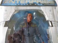 "Star Trek Enterprise Broken Bow Ensign TRAVIS MAYWEATHER  7"" Figure New Free P&P"