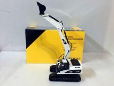 Special White color!! Norscot Cat 320D L Hydraulic Excavator 1/50 Die-Cast 55214