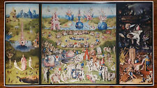 "Garden of Earthly Delights GIANT WIDE 24"" x 46"" Hhieronymus Bosch Poster Art"