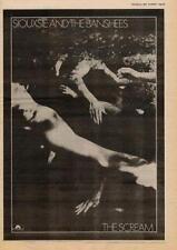 Siouxsie & The Banshees Scream UK LP advert 1978