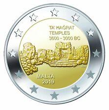 MALTA I 2019- 2 euromunt- Prehistorische site van/de Ta Hagrat op/sur Gozo - UNC