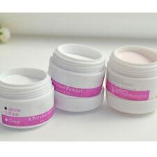 3 Color Acrylic Powder Nail Art False Tips Salon Tools Set Polymer Powder