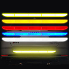 Car Reflective Warning Strip Tape Bumper Truck Safety Reflector Sticker Decal