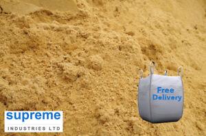 Building Sand Bulk Jumbo Bag - For general building! 800kg Min