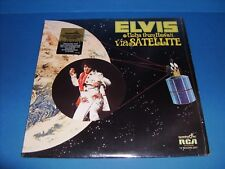 ELVIS ALOHA FROM HAWAII VIA SATELLITE ORIGINAL 1972 QUADRA DISC NM-  QUAD LP