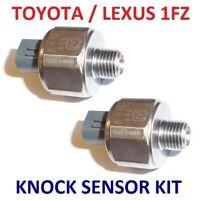Set of 2 Knock Sensor for Toyota Landcruiser FZJ80 FZJ75 FZJ100 105 4.5L1FZ-FE