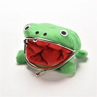 Naruto Frog Fluff Coin Purse Wallet New Cartoon Green Cute Gifts MW