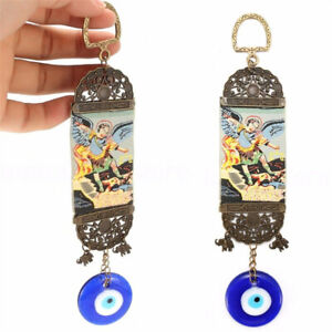 Turkish Blue Evil Eye Amulet Wall Hanging Home Protection Lucky Pendant Ornament