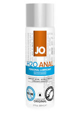 SYSTEM JO H2O ANAL LUBE Lubricant Water Based Condom Safe 60ml