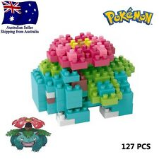 Venusaur Pokemon Go LNO Micro BLOCK Loz Build Nano blocks mini Toy Pokémon