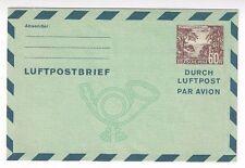 1967 Mint Berlin Germany 60pf Aerogram Air Letter Sheet, GEM, Airmail H&G #3