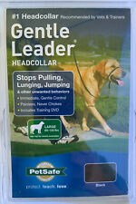NEW PetSafe Gentle Leader HeadCollar Stops Pulling,Lunging,Jumping Black Large