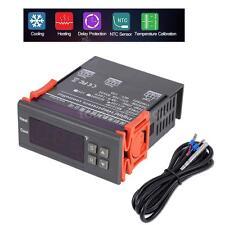 Mini Digital 110V Temp Controller Thermostat -58~194 Fahrenheit Sensor 10A SP_US