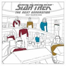 Adult Coloring Book NEW * Star Trek the Next Generation * Science Fiction Young
