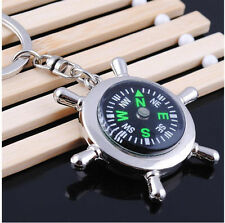 Mini Metal Precise Portable Camping Sport Hike Keychain Outdoor Compass Ring
