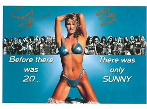 WWE SUNNY Autographed Color 8x10 pic2 w/COA- Tammy Sytch