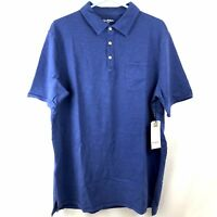 Goodfellow & Co Blue Polo Shirt Mens Size XLT Extra Large Tall Short Sleeves NWT