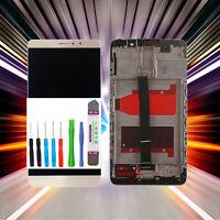 Original Huawei Display MATE 9 MHA-L09 LCD Touchscreen Glas Scheibe Gold+Rahmen