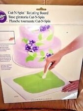 Wilton cut -n-spin rotating board