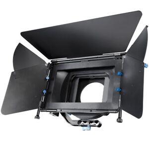 Sonnenblende Matte Box Director II für DSLR Rig zum Filmen mit DLSRs