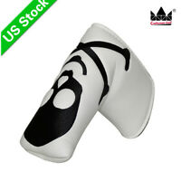 White King Skull Golf  Putter Cover Headcover for Odyssey Titleist Callaway New!