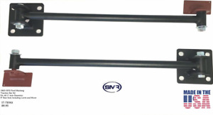 "Ford Mustang Traction Bar 1965-1970 Pair With 9"" Axle  Rear Ends Traction Bars"