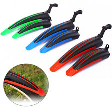 """20""""-26"""" Mountain Bike Mudguards Bicycle Mud Guard Tire Fenders Front Rear Set"""