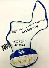 NEW w/Tag University of Kentucky Wildcats Football Cross Body Bag/Purse FreeShip